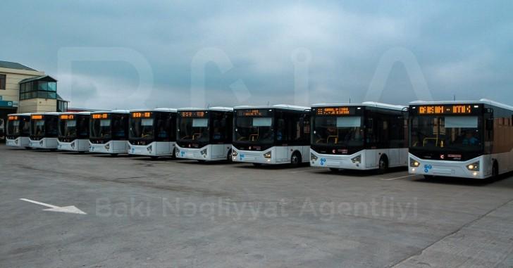 Bakıya 20 ədəd avtobus gətirilib-