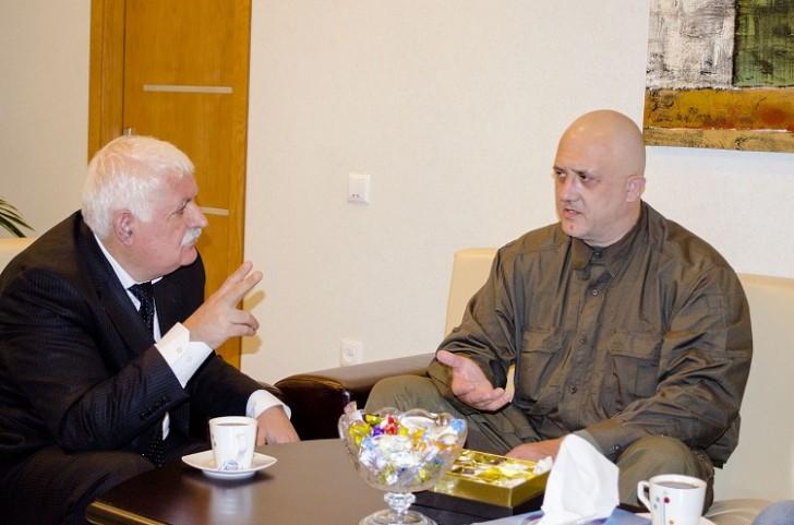 Rusiyanın tanınmış jurnalisti və eksperti Mətbuat Şurasında olub