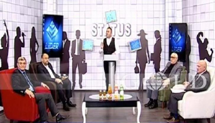 Lider TV-nin canlı efirində deputata savadsız dedilər-