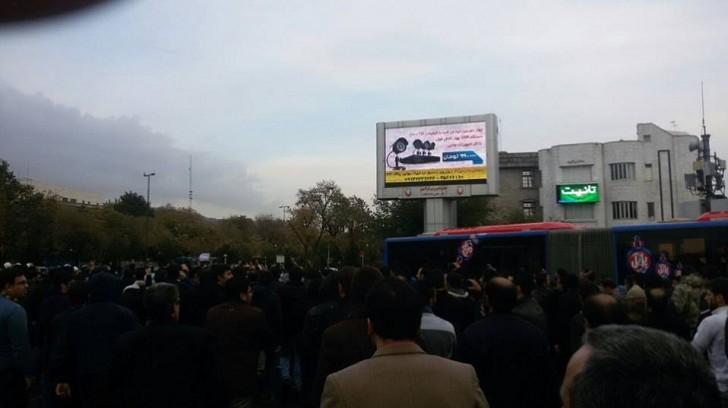 Tehranda etirazların keçirilməsi üçün xüsusi park yaradılacaq