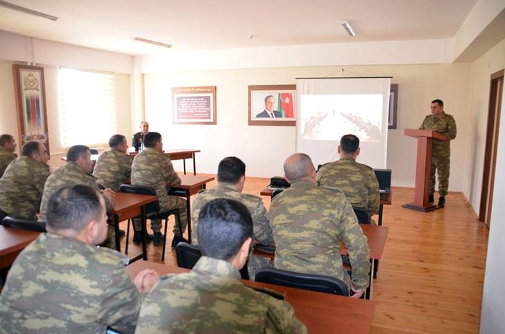 Ali Baş Komandanın tapşırıqları Azərbaycan Ordusunun şəxsi heyətinə çatdırılır