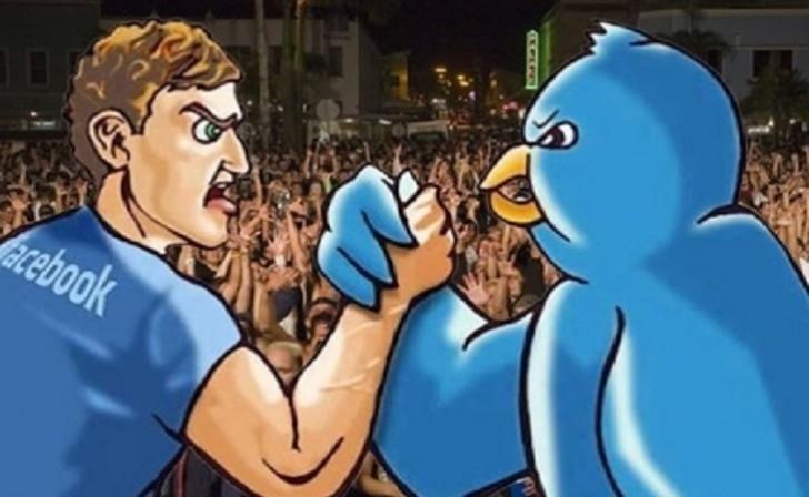Twitter feyzbuku üstələyir?-