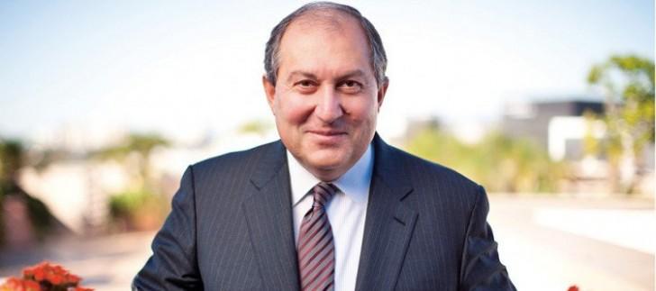 Armen Sarkisyan prezidentliyə namizəd oldu