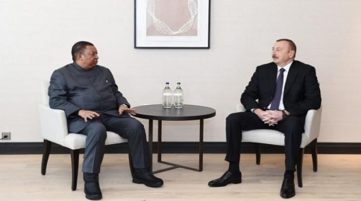 Azərbaycan prezidenti OPEC-in baş katibi ilə görüşüb