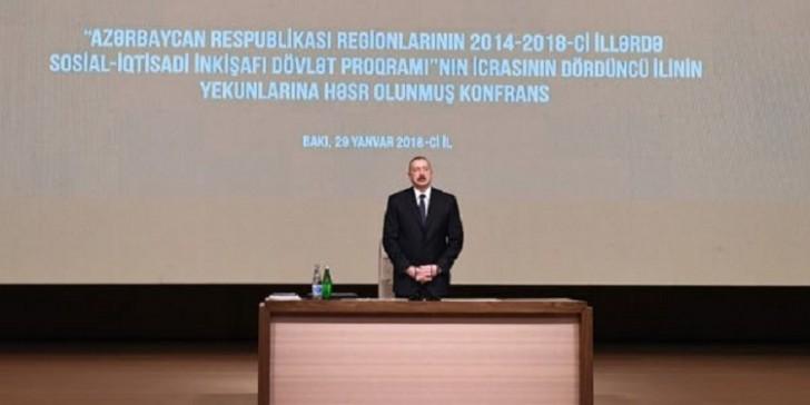İlham Əliyev məmurları topladı