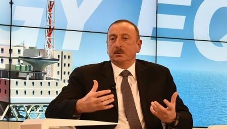 İham Əliyev Davosda çıxış edəcək