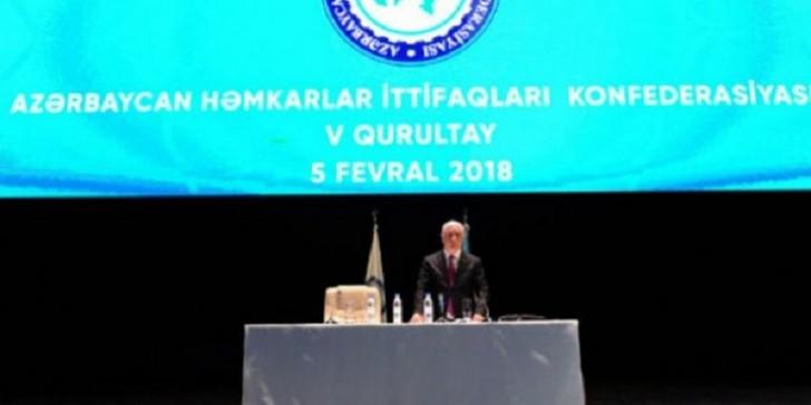 Azərbaycan Həmkarlar İttifaqları Konfederasiyasına yeni sədr seçildi