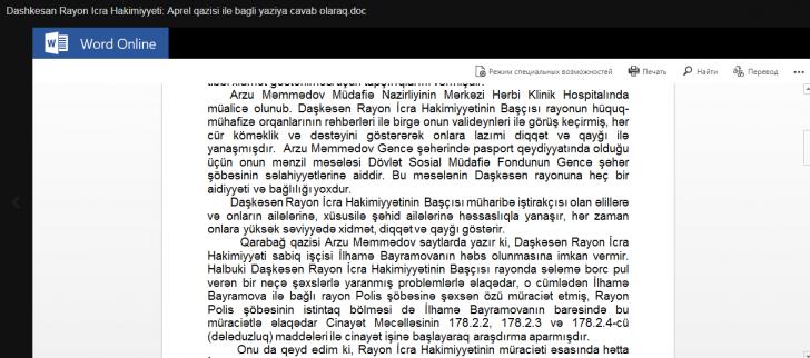 Əhəd Abıyev özünümüdafiəyə keçdi: