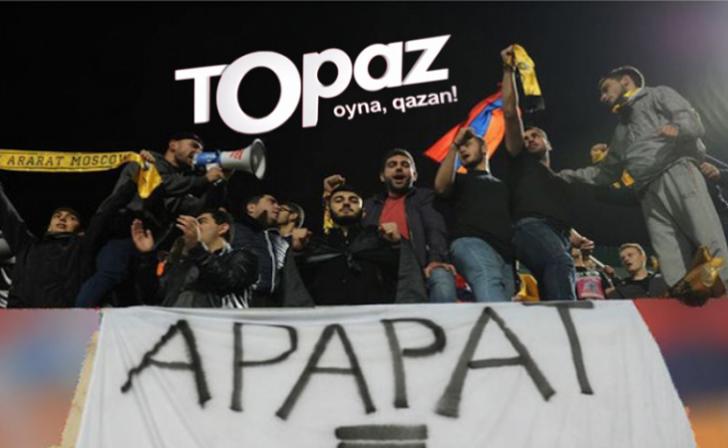 """""""Topaz""""dan erməni təbliğatı:"""