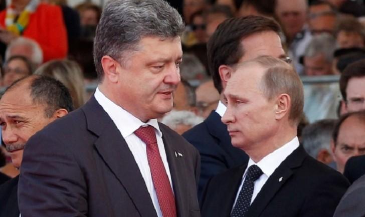 Putinlə Poroşenko arasında telefon danışığı olub