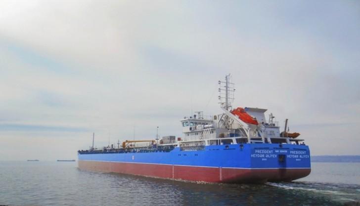 """""""Prezident Heydər Əliyev"""" tankeri istismara qaytarılıb"""
