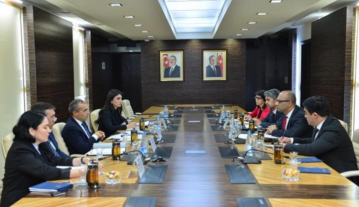 Mikayıl Cabbarov Dünya Bankının Azərbaycan üzrə meneceri ilə görüşüb