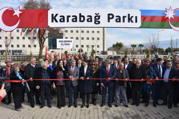 Nazillidə Qarabağ parkı və Xocalı soyqırımı abidəsinin açılışı olub-