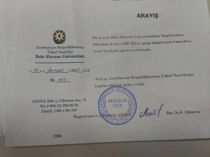 Slavyan Universiteti ilə Təhsil Nazirliyi üz-üzə: