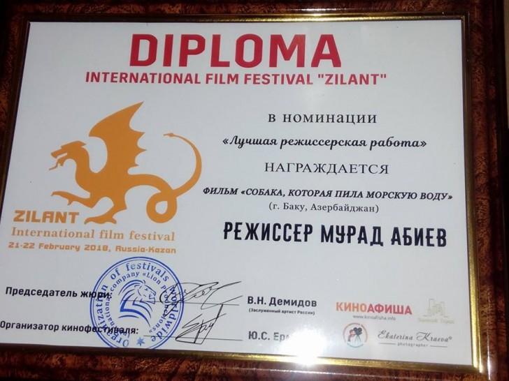 Azərbaycan filmi beynəlxalq festivalda qələbə qazanıb-