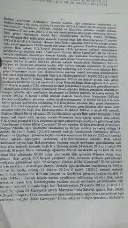 Bakıda icra başçısı Abdin Fərzəliyevin də adı hallanan 12 milyonluq fırıldaq-