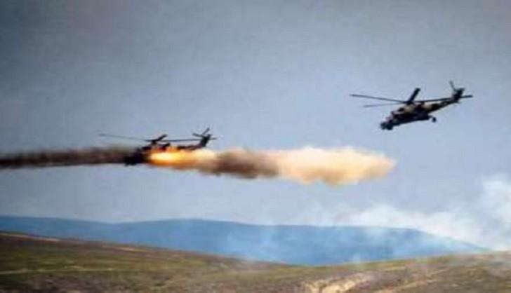 Rusiyada hərbi helikopter qəzaya uğradı: