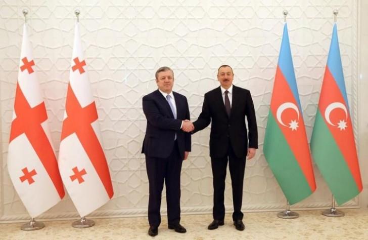 İlham Əliyev Gürcüstanın Baş nazirini qəbul edib-