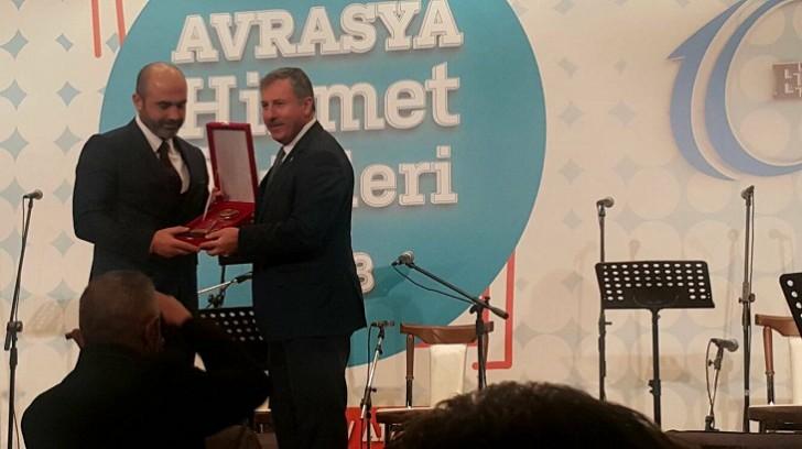 """Ankarada """"Avrasiya Xidmət Mükafatları 2018""""-in təqdimetmə mərasimi keçirilib-"""