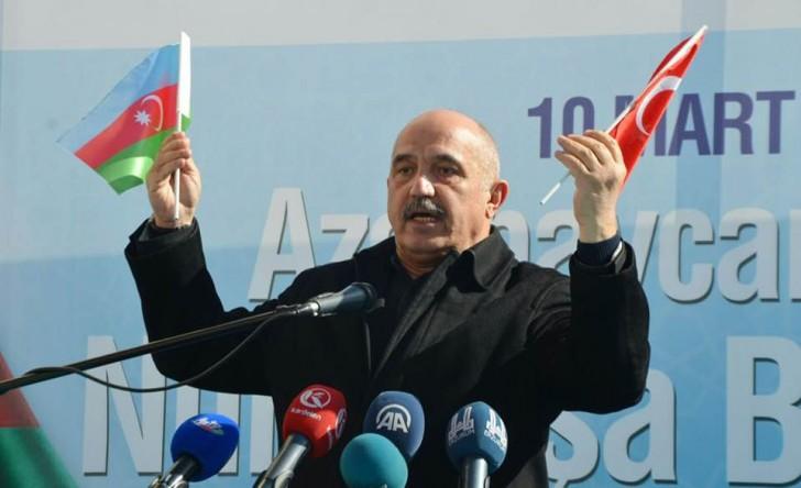 """Ərzurumda """"100. İl Qəhrəmanlar Abidəsi""""nin açılış mərasimi keçirilib"""