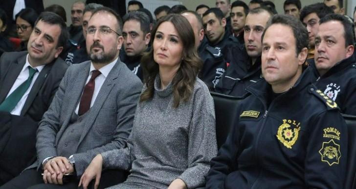 Qənirə Paşayeva Türkiyə Polis Okulunda gənclərə çağırış edib-