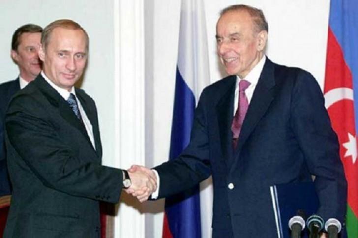 İlham Əliyev Heydər Əliyevlə Vladimir Putinin ilk görüşü barədə danışıb