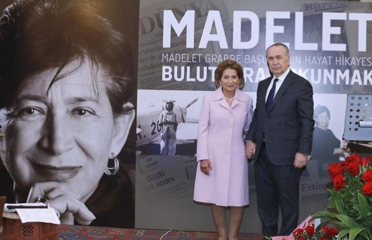 Böyük türk qadını Madalet Başusta haqqında kitabın təqdimatı keçirilib-