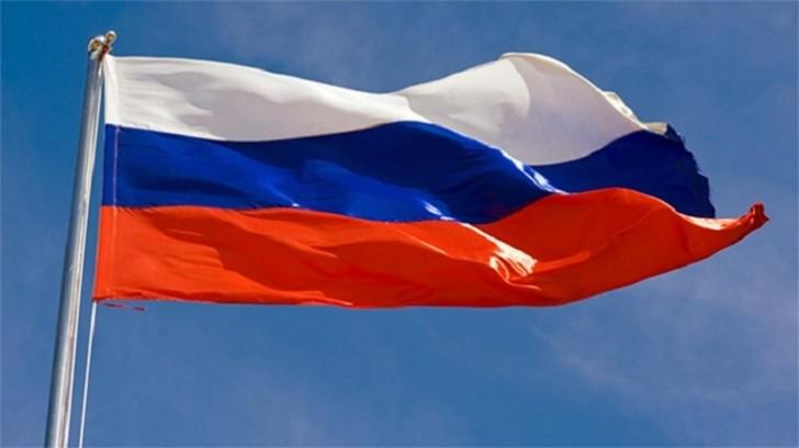 Rusiyanın Bakıdakı səfirliyində dövlət bayrağı endirildi