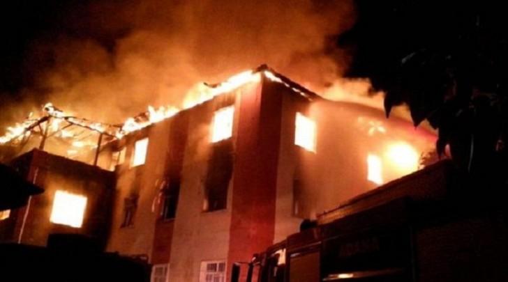 Sanatoriyada baş verən yanğın söndürüldü: 55 sakin təxliyə edildi