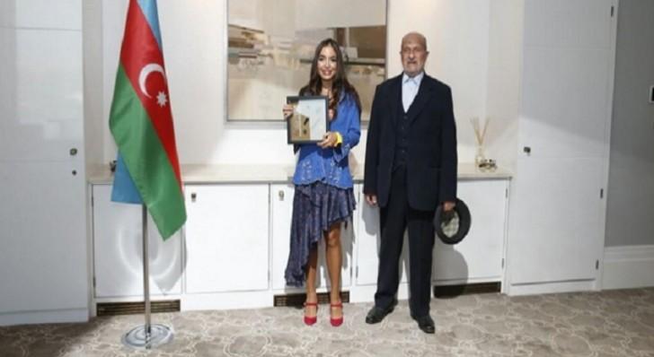 Leyla Əliyeva azərbaycanlı döyüşçünün xatirəsini yad etdi-