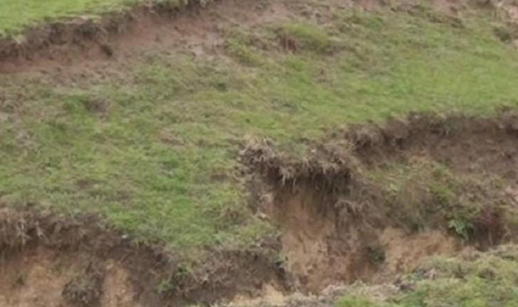 Şamaxı rayonunda sürüşmə sahəsi aktivləşdi: