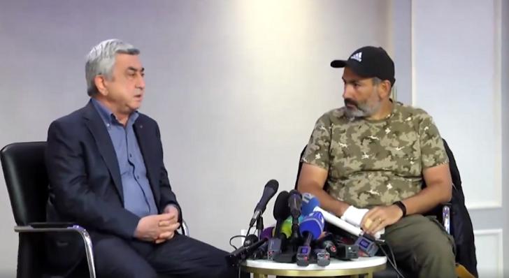 Sarkisyan Paşinyan görüşü: