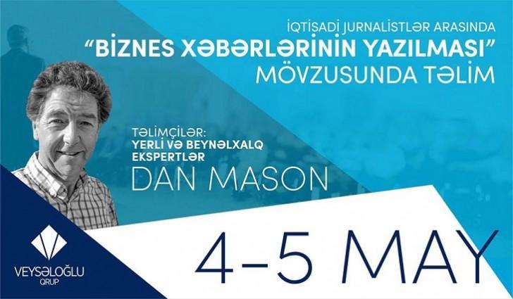 İqtisadiyyatdan yazan jurnalistlər üçün təlim keçiriləcək
