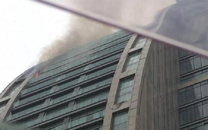 Məmmədovlar klanının Bakıdakı məşhur binası yandı-