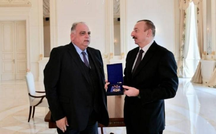 """İlham Əliyevə """"Qızıl Orden"""" mükafatı verildi-"""