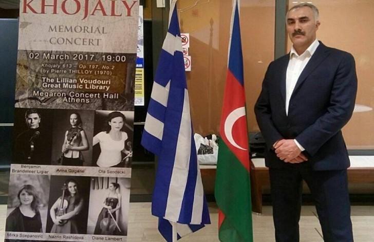 Yunanıstan azərbaycanlıları arasında yetərincə milli birlik var-