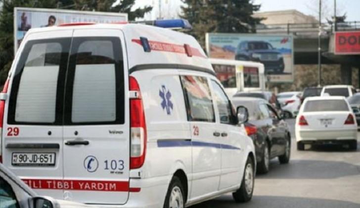 Şamaxıda yanmış 30 yaşlı qadın Bakıya xəstəxanaya çatdırılıb