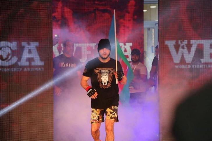 Dünyanın gözü Azərbaycanlı MMA ulduzu Tofiq Musayevdə-