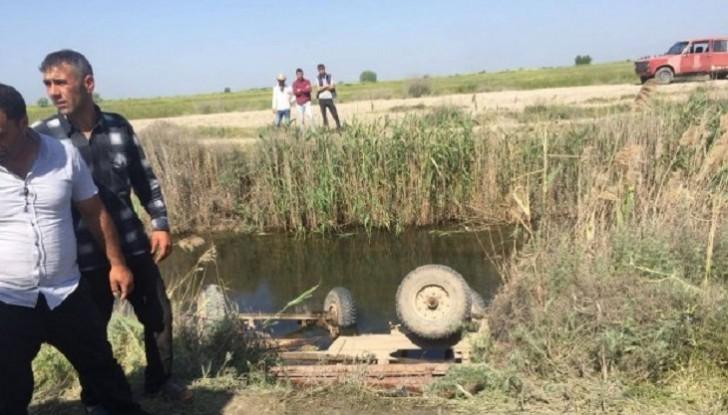 Sabirabadda pambıqçıları daşıyan lafet aşdı, ana və iki qızı da daxil olmaqla 6 qadın həlak oldu