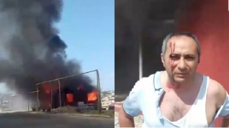 Qarabağ qazisi icra başçısına etiraz olaraq evini yandırdı: