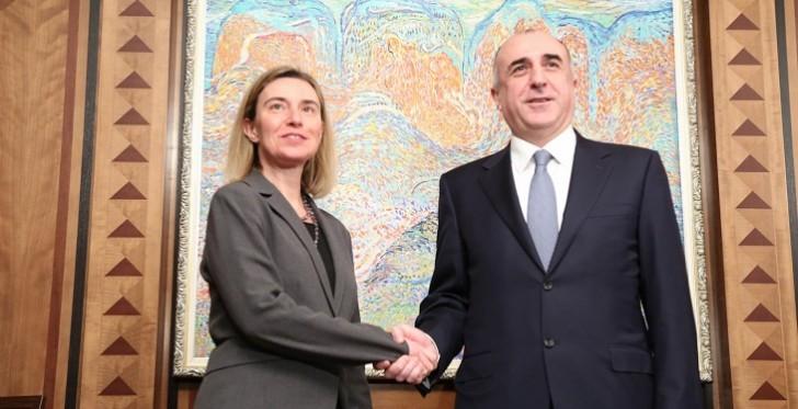 Azərbaycan XİN başçısı Federiko Mogerini ilə görüşüb