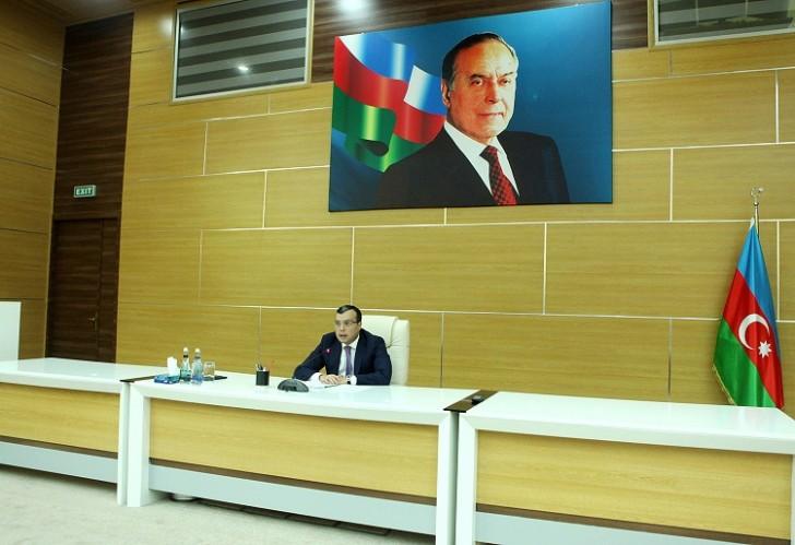 Sahil Babayev DSMF-də müşavirə keçirib-