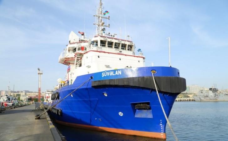 Gəmiçiliyin Xəzər Dəniz Neft Donanmasına daha iki gəmi daxil edilib