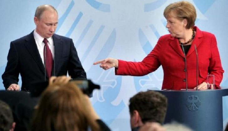 Merkel Putinlə İran, Suriya və Ukraynanı müzakirə edəcək