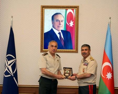 Zakir Həsənov NATO generalları ilə görüşdü