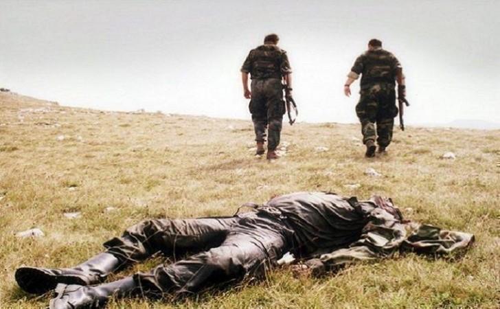 Qarabağda erməni əsgər yaralandı