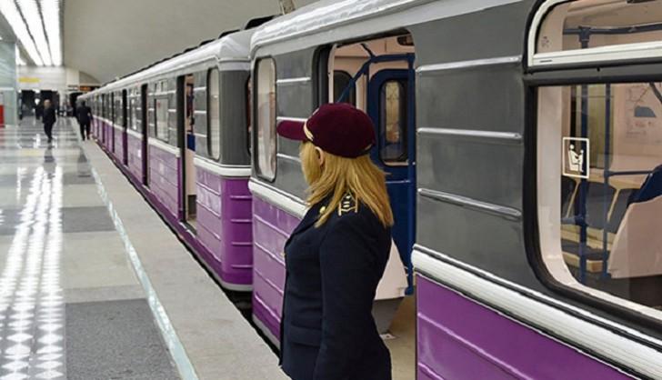 Bakı metrosunda həyəcanlı anlar: