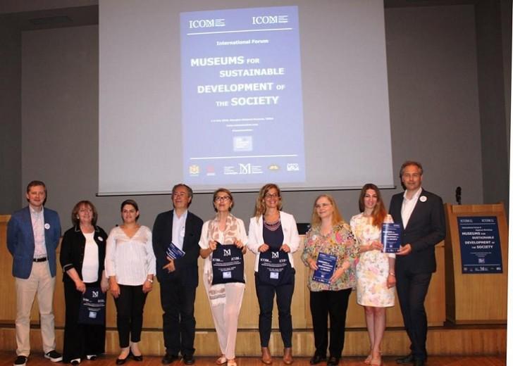 ICOM Azərbaycan Milli Komitəsi beynəlxalq forum və regional seminarda təmsil olunub