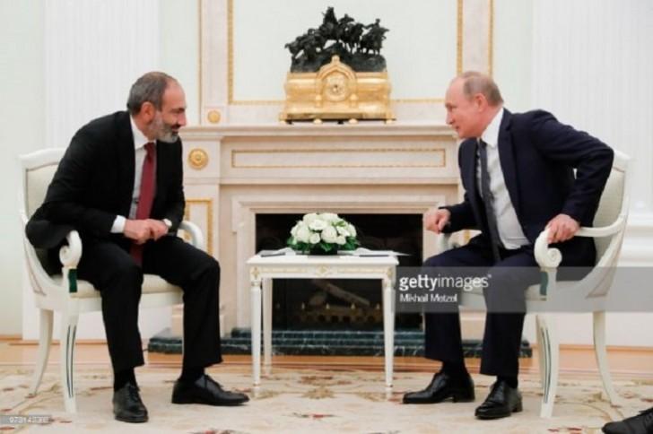 Paşinyan Putini necə özündən çıxardı...
