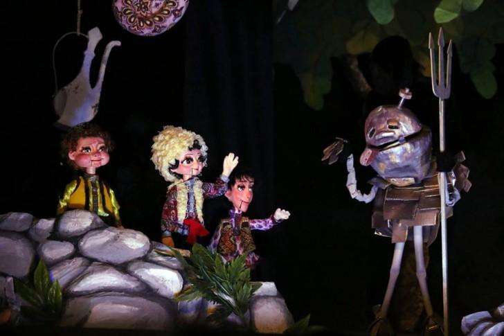 Kukla teatrı mövsümü başa vurur